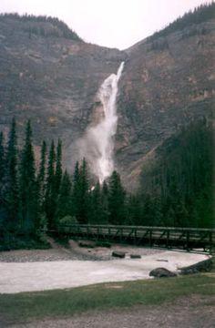 Takakkaw Falls Canada's largest
