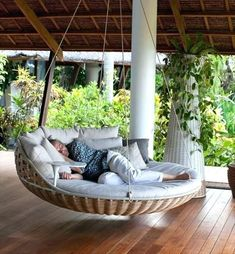 modern porch swing bed bed swing for porch canopy swing outdoor bed canopy swing outdoor bed daybed swing option 1 bed swing for porch modern outdoor swing bed Outdoor Hanging Bed, Hanging Beds, Hanging Chairs, Hanging Rope, Hanging Swing Chair, Hammock Chair, Winter Balkon, Balcony Swing, Patio Swing