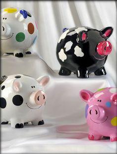 cute little piggy banks