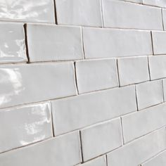 Stunningly handmade subway tile available in store at de lucia tile gallery in a wide range of colours!