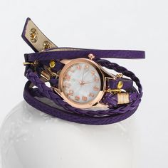 Multi-strand Cowhide #Wrap #Watch, Very Popular Design.