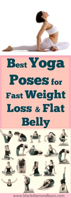Yoga Poses How To Lose Weight Fast? If you want to lose weight badly and achieve that your dream weight, you can naturally lose that stubborn fat in 10 days with this best yoga exercises for fast weight loss from belly , hips , thighs and legs. It also si Fitness Workouts, Yoga Fitness, Sport Fitness, Health Fitness, Fat Workout, Fitness Plan, Workout Plans, Sport Diet, Fast Weight Loss Tips