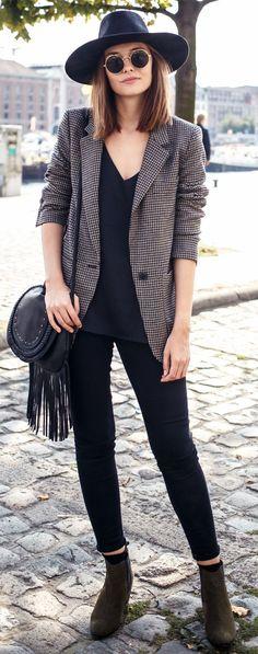 Polienne Urban Boho Chic Fall Street Style Inspo - Fall-Winter 2017 - 2018 Street Style Fashion Looks