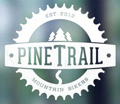Pine Trail Logo - like the boldness and how the name font gets fat in the middle.
