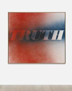 Ed Ruscha, TRUTH, 1997