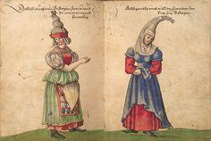 Weiditz Trachtenbuch 129-130 - Trachtenbuch des Christoph Weiditz - Wikimedia Commons