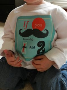 Mustache Birthday T-Shirt
