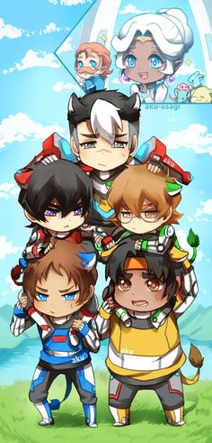 The fact that they're chibis and they have kitty ears makes this picture 8000x better! ♡