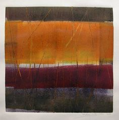 monotypes - KAREN JACOBS  contemporary and abstract paintings