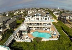 Twiddy Outer Banks Vacation Home - Royal Caribbean I - Duck - Oceanfront - 8 Bedrooms