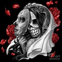 Image from http://images.fineartamerica.com/images-medium-large/1-day-of-the-dead-bride-william-webb.jpg.