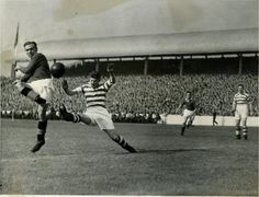 In pictures: The Old Firm derby in black and white, 1900-1950 - Daily Record
