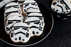 Storm Trooper Cookies
