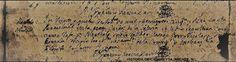 en 24 de Noviembre de 1757, en esta Parroquial en la parte caída de la Yglesia, se le dio sepultura con cruz baja a Bartholo, indio rallado, casado con Nicolasa, india borrada. Recibió los santos sacramentos de la confesión y eucaristía Para que conste lo firmo,  supra. Bachiller: Cypriano García Dávila  fuente: Historia de Cadereyta Jiménez N.L.