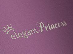 Logo for Elegant Princess that makes beautiful dresses for little girls.