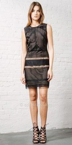 Ingrid Lace Dress by Greylin #edressme