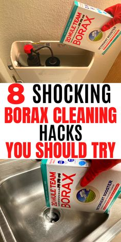 Borax Cleaning, Diy Home Cleaning, Homemade Cleaning Products, Deep Cleaning Tips, Household Cleaning Tips, Cleaning Recipes, Green Cleaning, House Cleaning Tips, Natural Cleaning Products