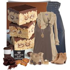 Bar Cookies, created by cindycook10 on Polyvore