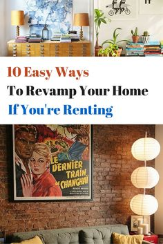 Make it your own home even if you're renting!