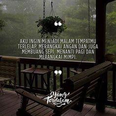 Aku ingin menjadi akhir dari kisah panjang pencarianmu.  Kiriman dari @rafitaekayanti  #berbagirasa  #yangterdalam  #quote  #poetry  #poet  #poem  #puisi  #sajak