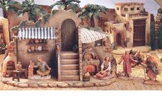 House of Fontanini Heirloom Nativities Display Ideas