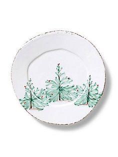 VIETRI Lastra Holiday Salad Plate - Color