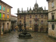 Santiago de Compostela is the capital of the autonomous community of Galicia in northwestern Spain. The Places Youll Go, Places To See, Travel Around The World, Around The Worlds, Saint Jacques, Spain And Portugal, Future Travel, Spain Travel, Pilgrimage
