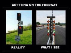 This is too true! I even try to time it like a Christmas Tree too.