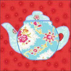 That impression (Teapot Quilt Patterns teapot pattern teapot quilt block quilt appliqu instant) previously mentioned is usual Quilt Block Patterns, Applique Patterns, Applique Quilts, Pattern Blocks, Quilt Blocks, Rug Patterns, Flower Applique, Pattern Ideas, Applique Designs