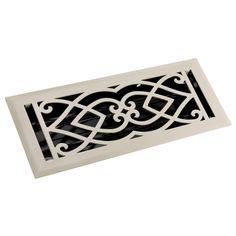 Victorian Steel Floor Register -
