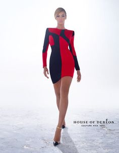 Beyonce Unveils House Of Dereon Winter 2012 Campaign | MTV Style