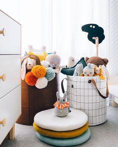 Cute neutral kids room
