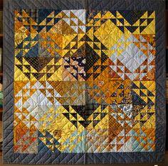 090413_104 Quilts –  Variation sur le Nine patch et quilt de triangles