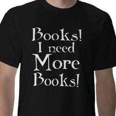 Books! I need more books!