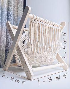 Macrame magazine rack Rustic home decor Towel rack Macrame | Etsy