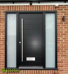 Modern Kitchen Entrance Doors nice modern front door, with or without the glass side panels