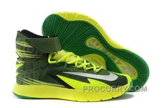 finest selection f537a 14102 Nike Zoom Hyperrev KYRIE IRVING Black Metallic Silver Electric Green For  Sale Online