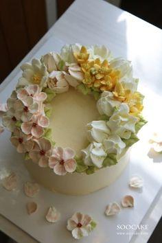 수케이크 봄봄봄 :))) 봄이지만 날씨가 너무 춥죠 ; 꽃샘추위 물러가라 !!! Flowers of Spring soocake ...