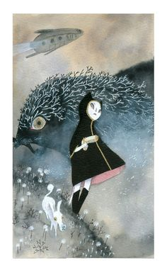 Another beautiful illustration by Amélie Fléchais!