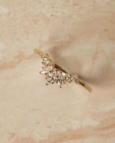 0.33ct Baguette /& Round Diamonds in 14K Rose Gold Spike Chevron Dangle Earrings CUSTOM MADE