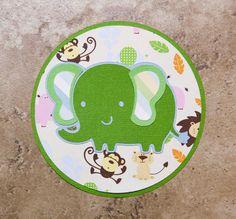 Elephant invitations for boys birthday or baby by lovetiesbymeggin, $45.00
