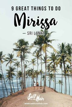 Things To Do Mirissa Sri Lanka pin