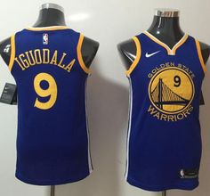 Nike Warriors  9 Andre Iguodala Blue NBA Swingman Jersey Nba Swingman  Jersey c07efccbe