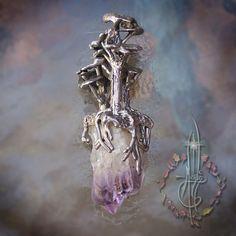 Tree Crystal Amulet