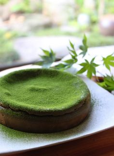 Organic Matcha Green Tea Powder by Enzo Full with Strong Milky Flavour, Easy to Dissolve in Hot Water. Green Tea Dessert, Matcha Dessert, Matcha Cake, Sweets Recipes, Gourmet Recipes, Making Sweets, Green Tea Recipes, Matcha Green Tea Powder, Colorful Cakes