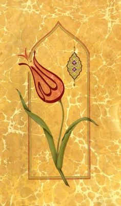 Tülin Gönültaş Arabic Calligraphy Art, Arabic Art, Marble Art, Tile Art, Cactus Doodle, Tulip Tattoo, Ebru Art, Islamic Tiles, Allah