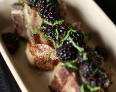 Though most frequently found in sweet treats, berries also add spunk to savory foods. Top grilled lamb with a mint-blackberry sauce for a bright and balanced dish.