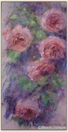 Roses 2 - pastel -