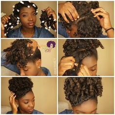#TBT When @nae2curly slayed our lives with this chic up do using Afro Kinky Curly clip ins !  Inspired by her look? Save $$$ on shipping using the code NAE2CURLY at checkout