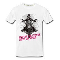 Men's Rider Organic T-Shirt Men Fashion, Men's Shoes, Organic Cotton, Mens Tops, T Shirt, Moda Masculina, Supreme T Shirt, Man Fashion, Man Shoes